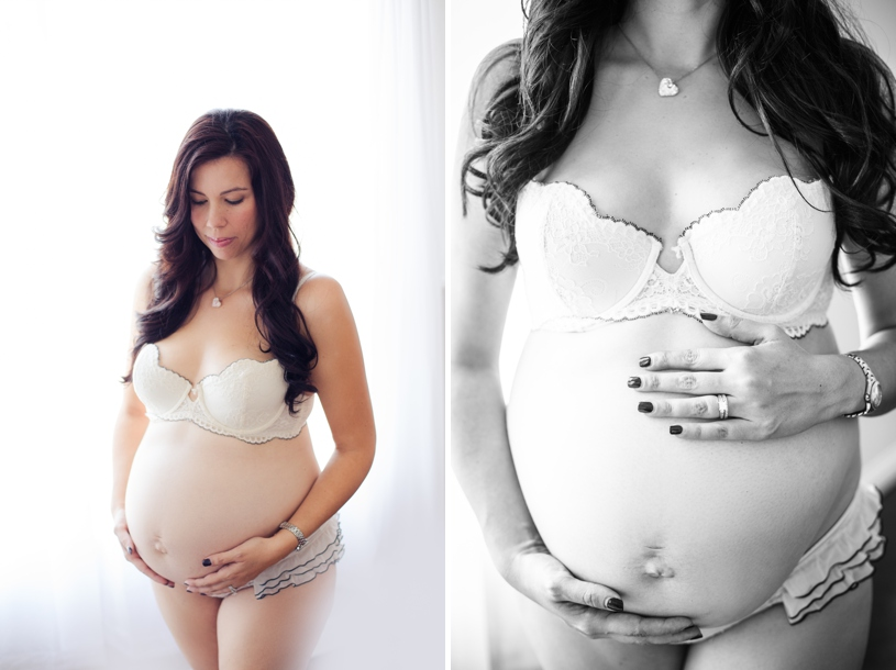 fine art natural light maternity session by nicole monique photography