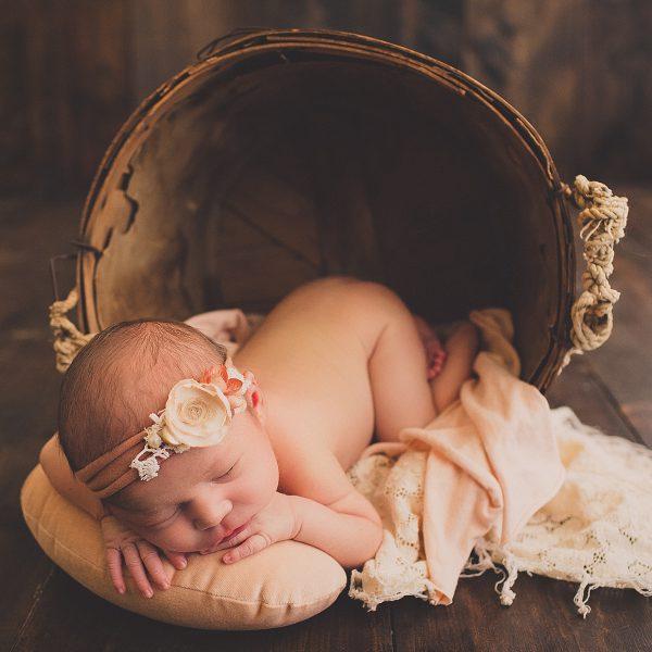 Tuhla's Newborn Session - Original Baby Name & Creative Posing