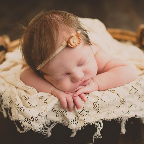 Olivia's Newborn Session - Natural Light & Strawberry Hair